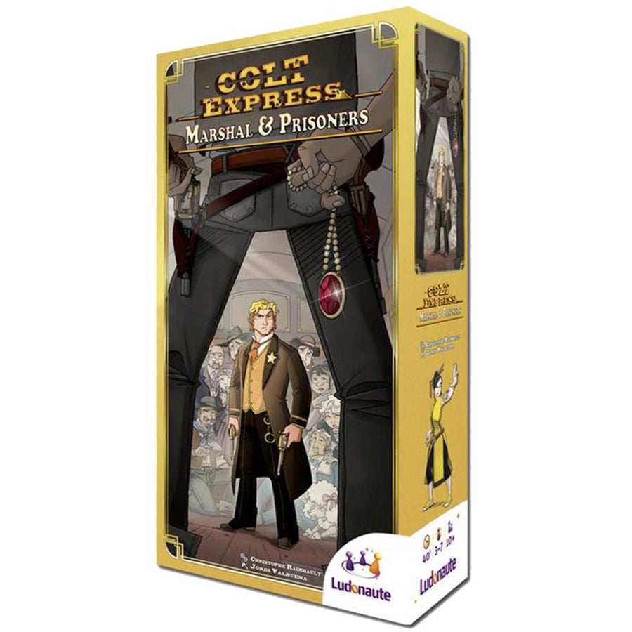 Colt Express Marshall & Prisoners Expansion
