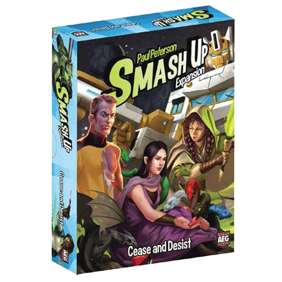 Smash Up Cease and Desist #6 Expansion