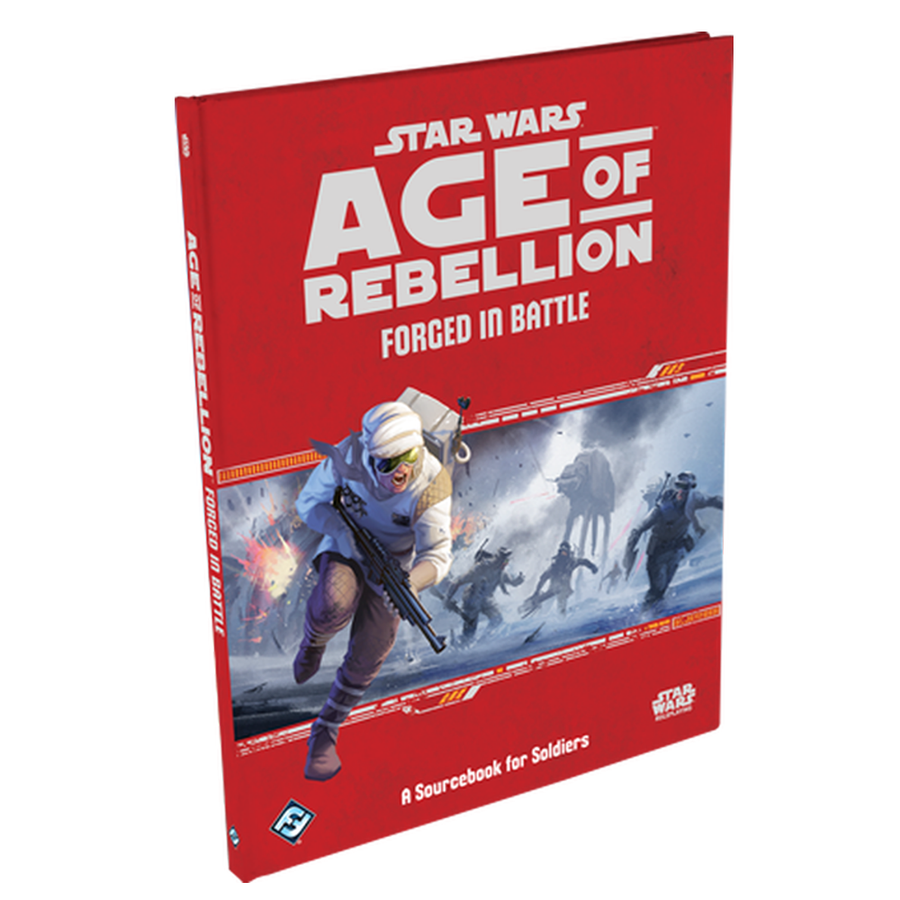 Star Wars Age of Rebellion Forged in Battle Expansion