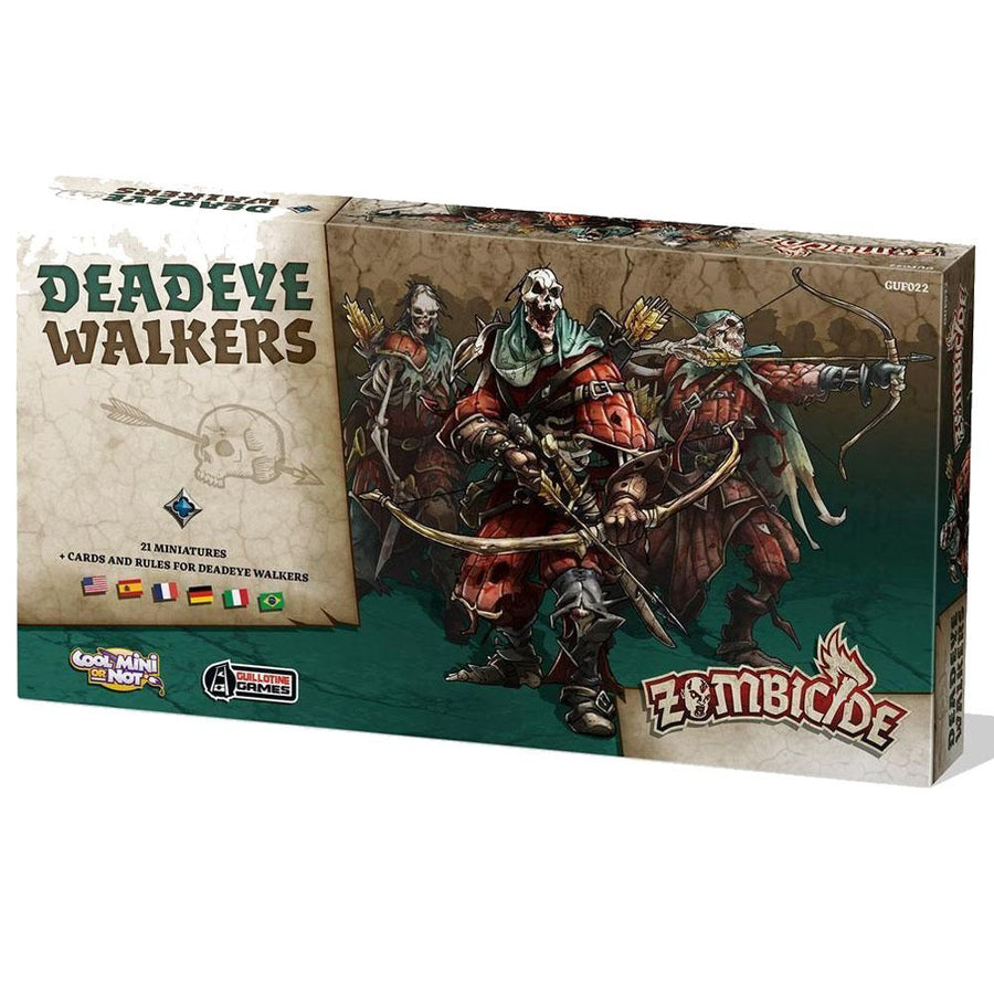 Zombicide Black Plague Deadeye Walkers