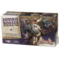 Zombicide Black Plague Zombie Bosses Abomination Pack