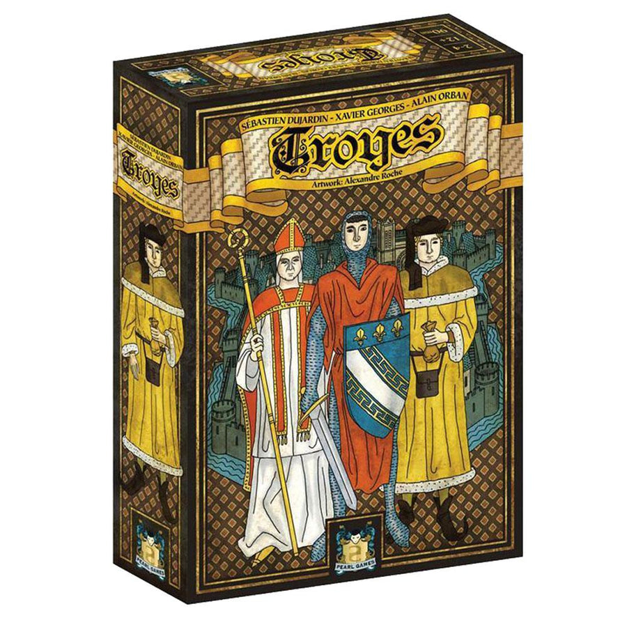 Troyes - ARTWORK: ALEXANDRE ROCHE Board Game