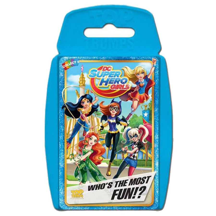 DC Superhero Girls Top Trumps