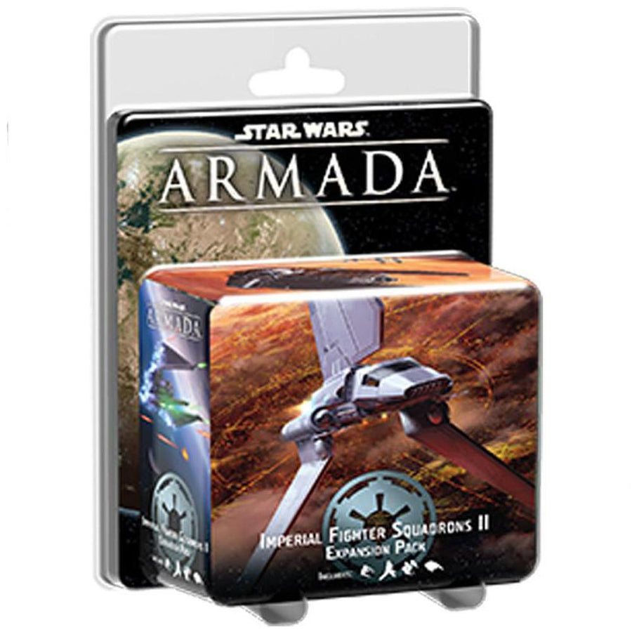 Star Wars Armada Imperial Fighter Squadrons II expansion pack