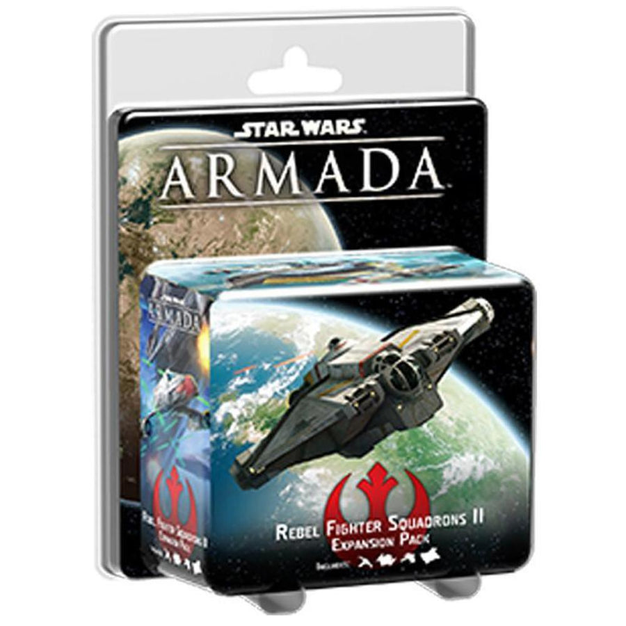 Star Wars Armada Rebel Fighter Squadrons II expansion pack