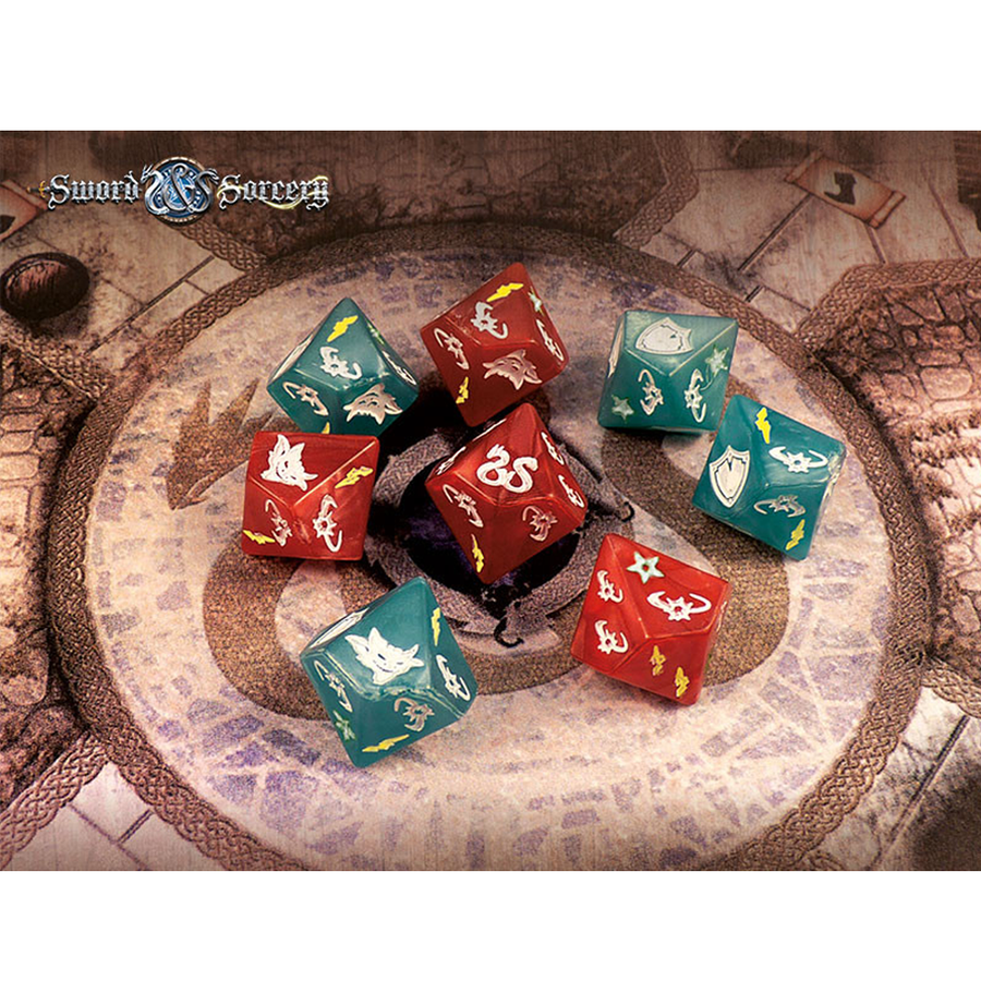 Sword & Sorcery Custom Dice Pack Board Game