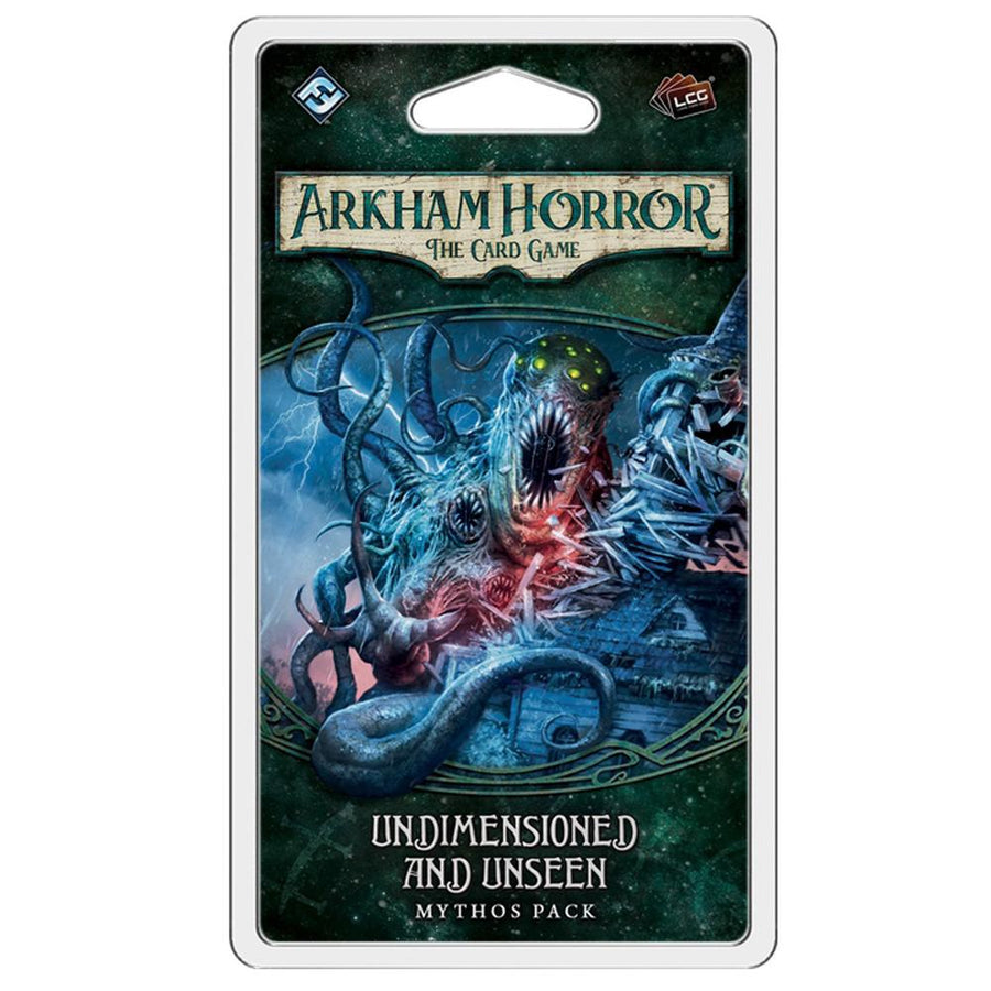 Arkham Horror LCG Undimensioned and Unseen Mythos Pack