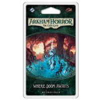Arkham Horror LCG Where Doom Awaits Mythos Pack Board Game