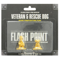 Flash Point Fire Rescue Veteran and Rescue Dog Expansion Pack Board Game