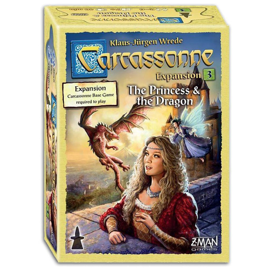 Carcassonne #3 The Princess and the Dragon 2nd Edition