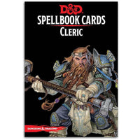 D&D Spellbook Cards Cleric Deck Revised 2017 Edition Board Game