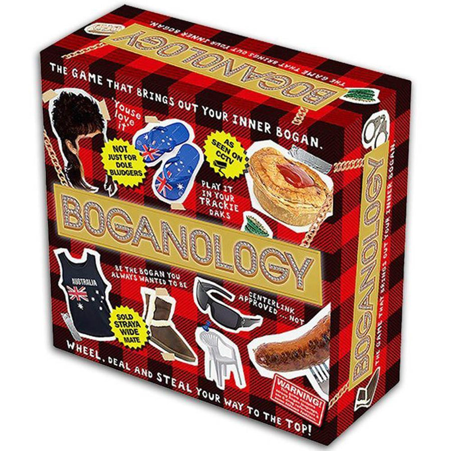 Boganology Card Game Board Game Party Game