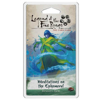 Legend of the Five Rings LCG Meditations on the Ephemeral Card Game