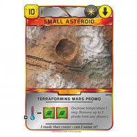 Terraforming Mars Small Asteroid Promo Card