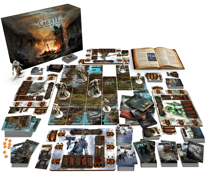 PREORDER Tainted Grail The Fall Of Avalon Kickstarter Edition