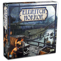 Eldritch Horror Masks of Nyarlathotep Board Game