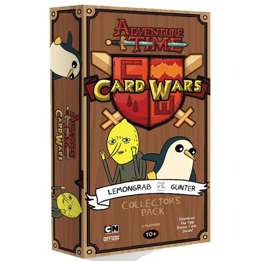 Adventure Time Card Wars Lemongrab Vs Gunter