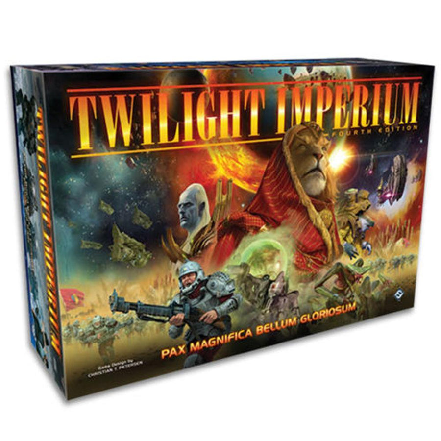 Twilight Imperium 4th Edition w/ Soft Copy Rule Book 20th Anniversary