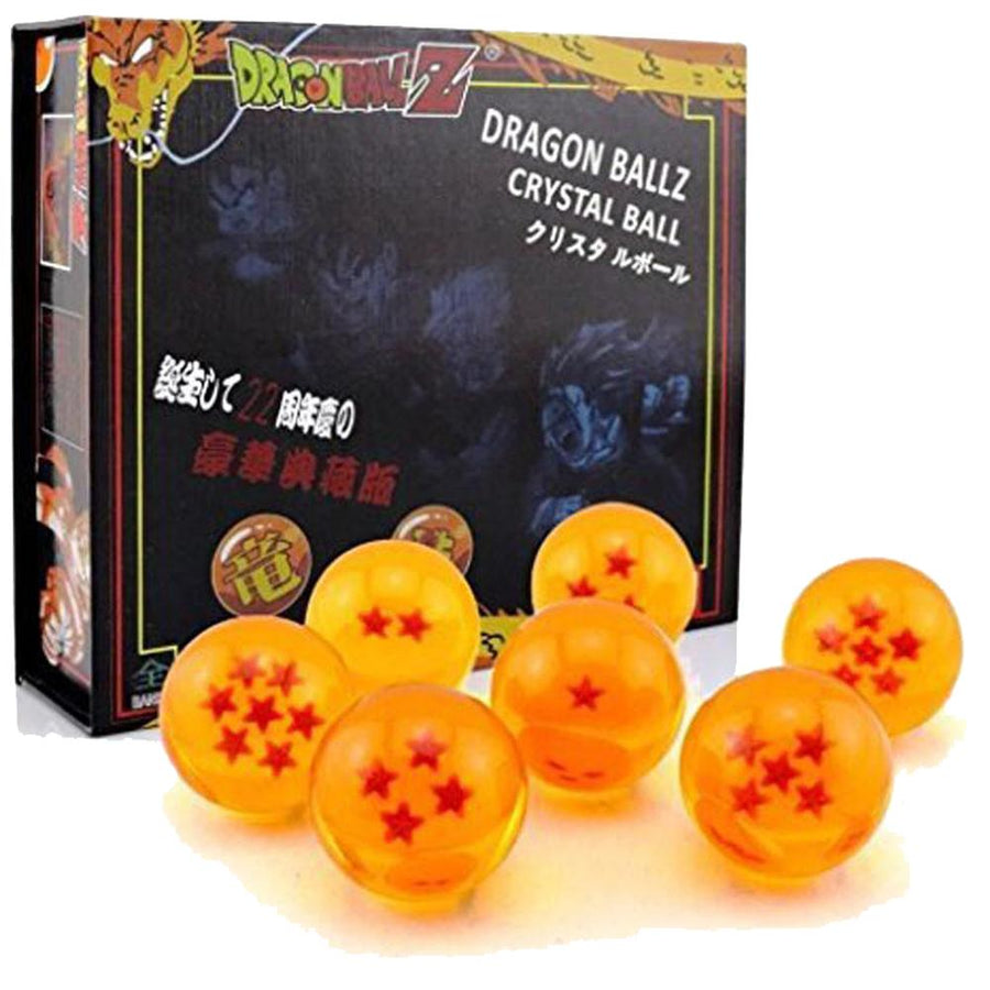 Dragon Ball Z Crystal Ball 4.2 cm Anime Dragon Ball Figure 7pc