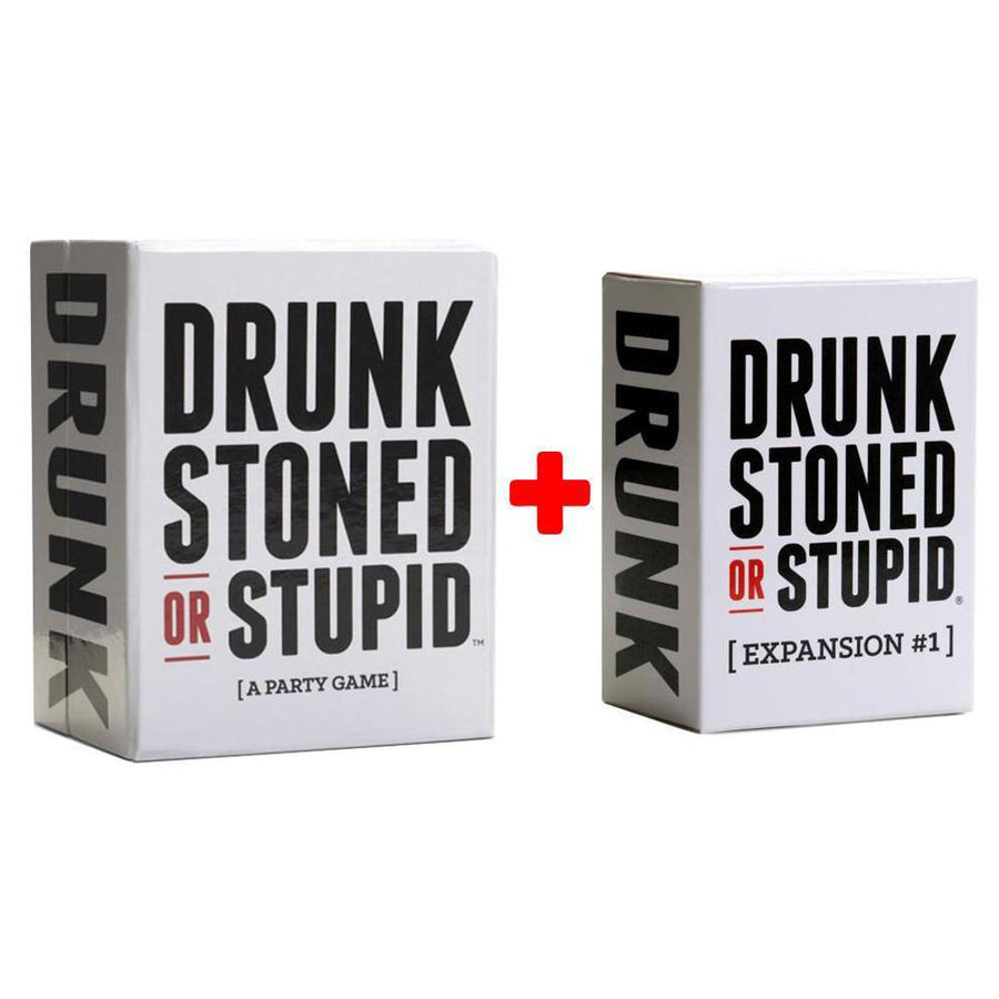 Drunk Stoned or Stupid First Expansion Card Game 125 NEW Cards Party Game