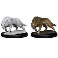 WizKids Deep Cuts Miniatures Timber Wolves