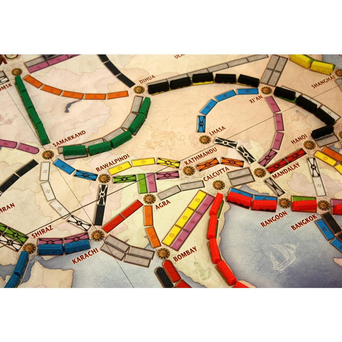 Ticket To Ride Asia Map.Ticket To Ride Asia Expansion Map Collection Volume 1 Team Asia L