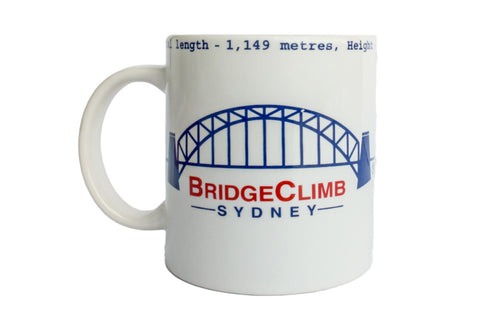 BridgeClimb Mug with Facts