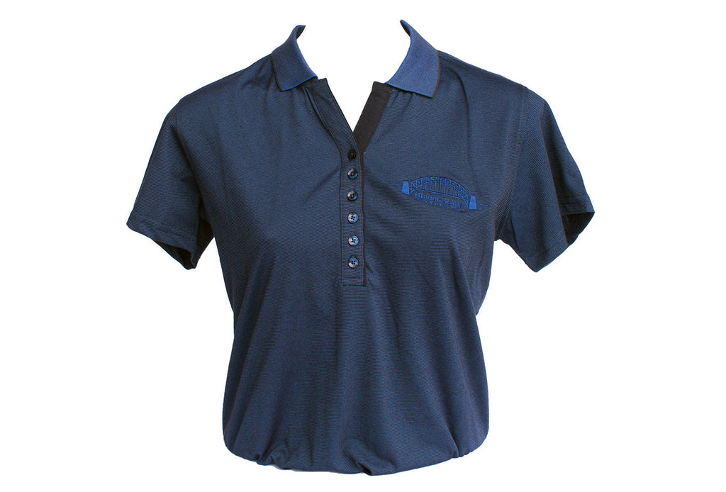 Ladies blue shadow Polo
