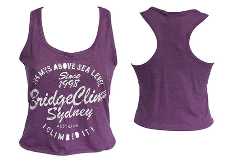 Ladies Burgundy singlet