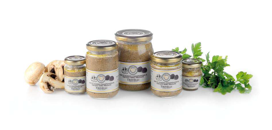 Mushroom and Fine Black Winter Truffle Pate 45-Grams