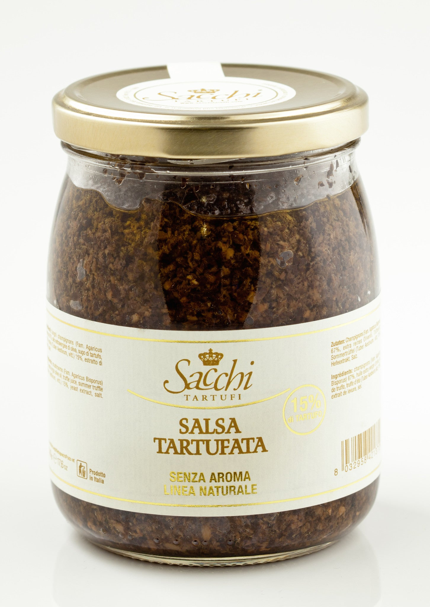 Natural Black Truffle Sauce