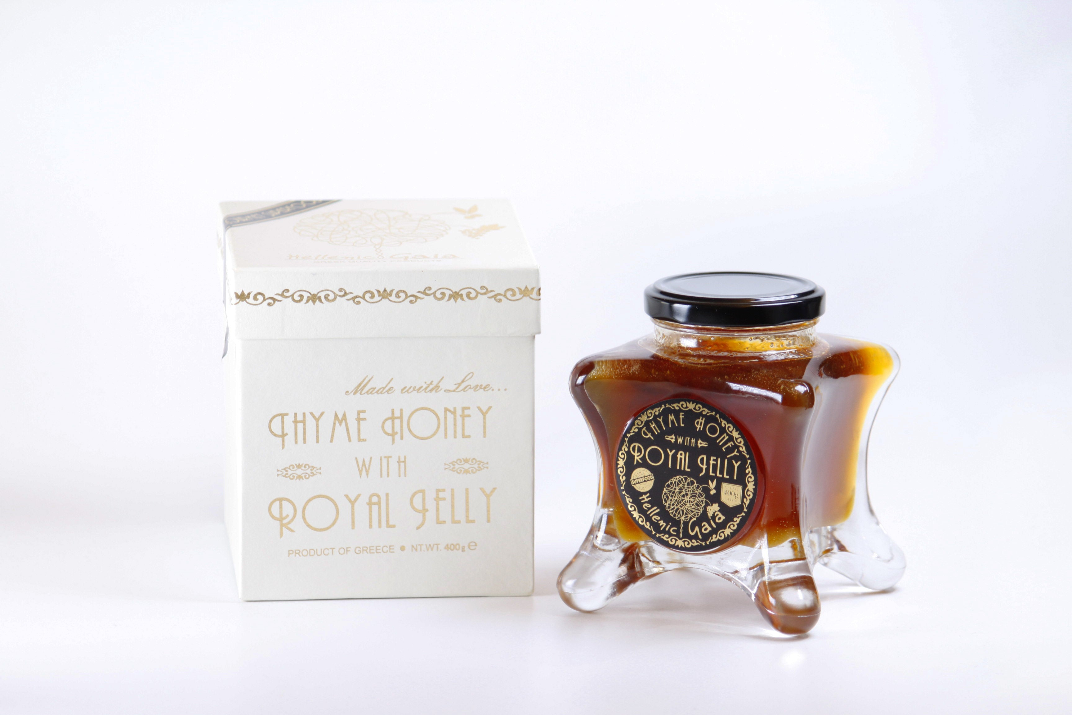 Thyme Honey With Royal Jelly