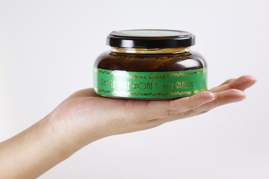 Thyme Pine Honey With Mastic