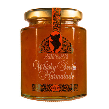 The Tasmanian Gourmet Sauce Co. Whiskey Seville Jam