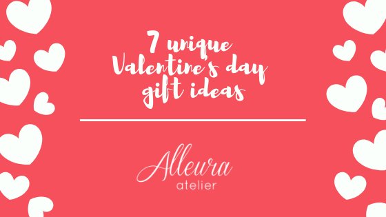 7 unique gift ideas for Valentine's Day!
