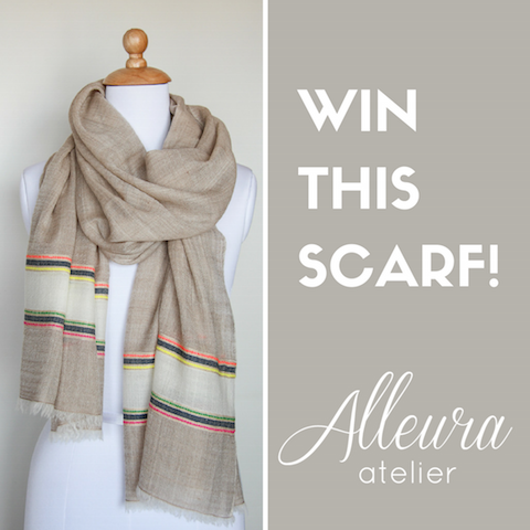 Win a cashmere scarf - contest