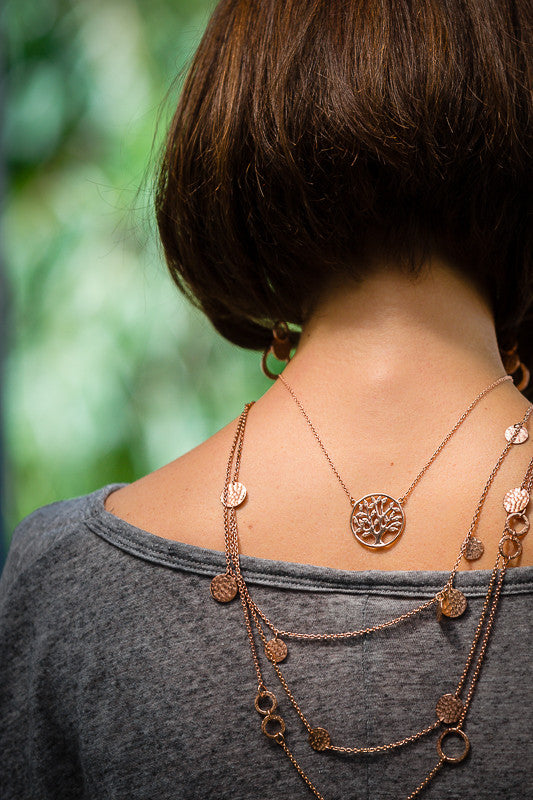 Tree of Life Necklace, Necklace - Alleura Atelier