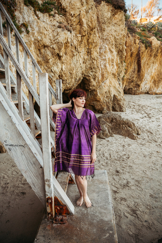 Gemma Beach Cover Up, Kaftan - Alleura Atelier