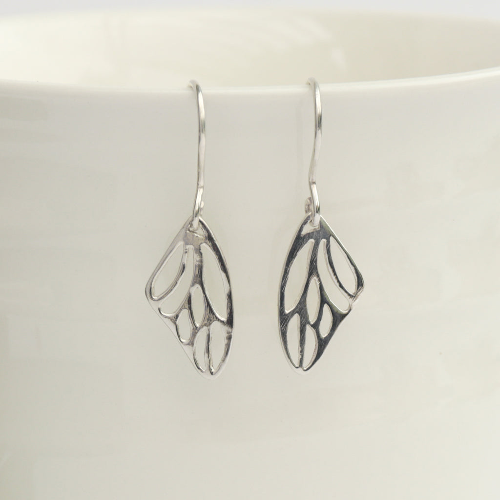 Butterfly Wing Earrings, Earrings - Alleura Atelier