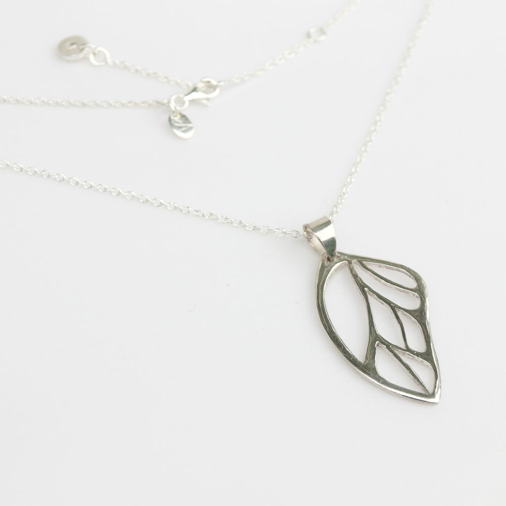 Butterfly Wing Necklace, Necklace - Alleura Atelier