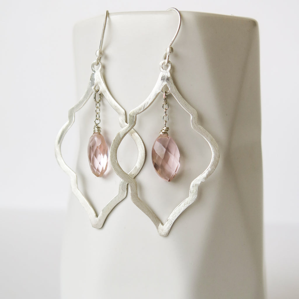 Celeste Arabesque Earrings, Earrings - Alleura Atelier