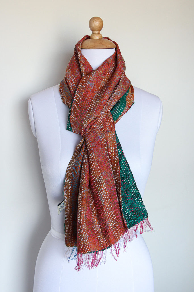 Coral Island Scarf, Accessories - Alleura Atelier
