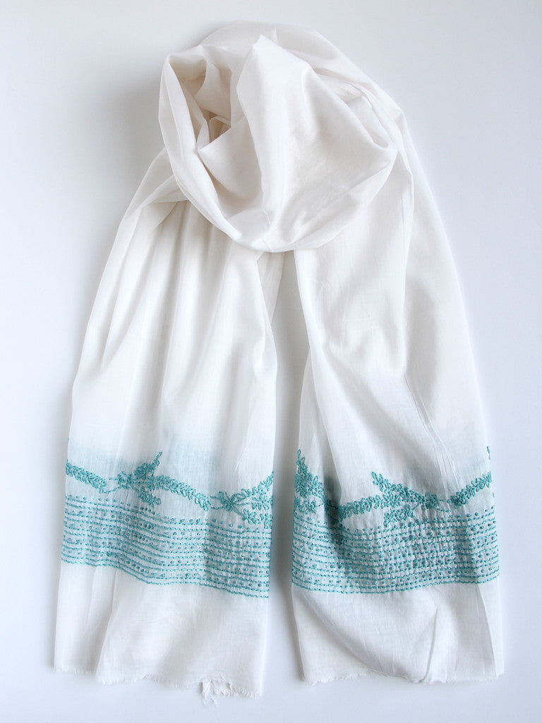 Lavender Blossoms Scarf, Accessories - Alleura Atelier