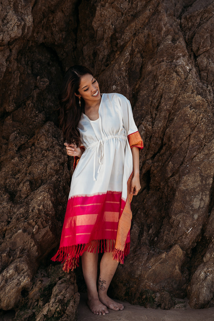 Malibu Maiden Beach Dress, Kaftan - Alleura Atelier