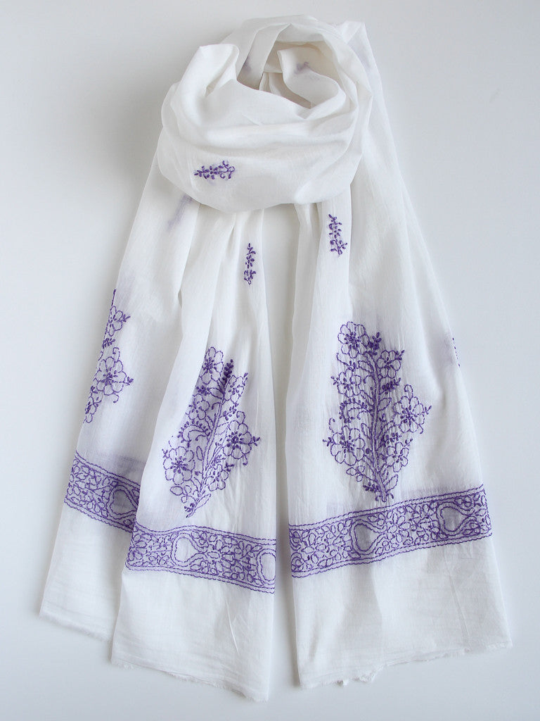 Mughal scarf, Accessories - Alleura Atelier