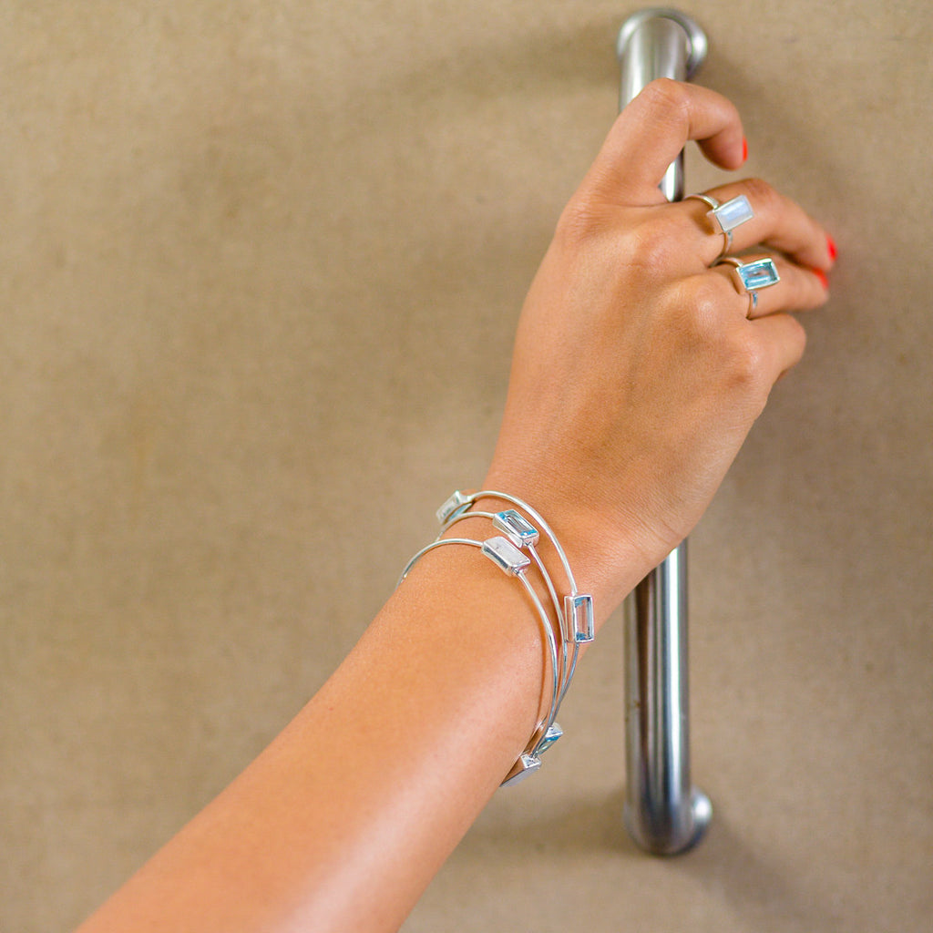 Park Lane Bangle, Bracelet - Alleura Atelier