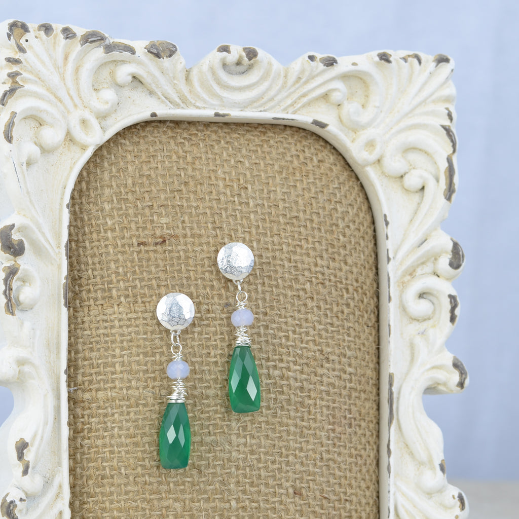 Samantha Earrings, Earrings - Alleura Atelier