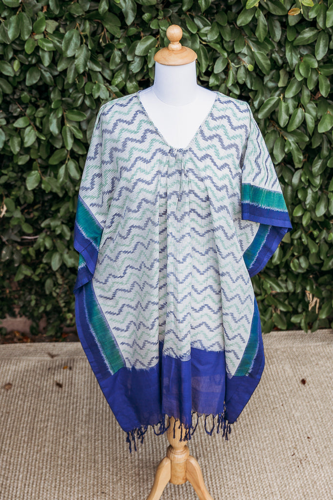 Seismic Waves Tunic Dress