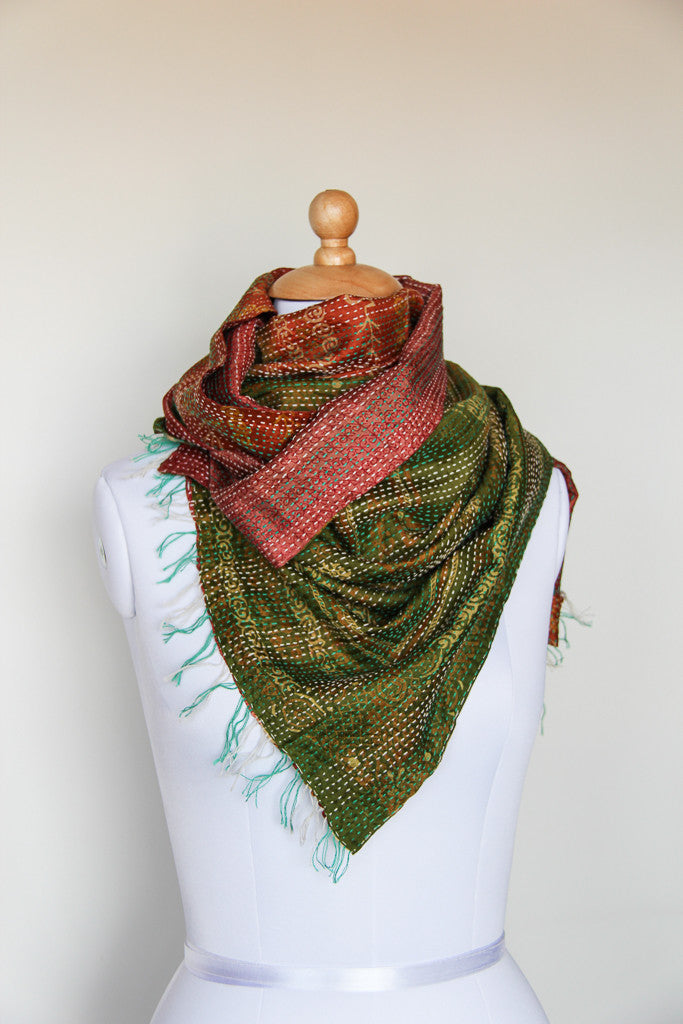 Woodland Scarf, Accessories - Alleura Atelier
