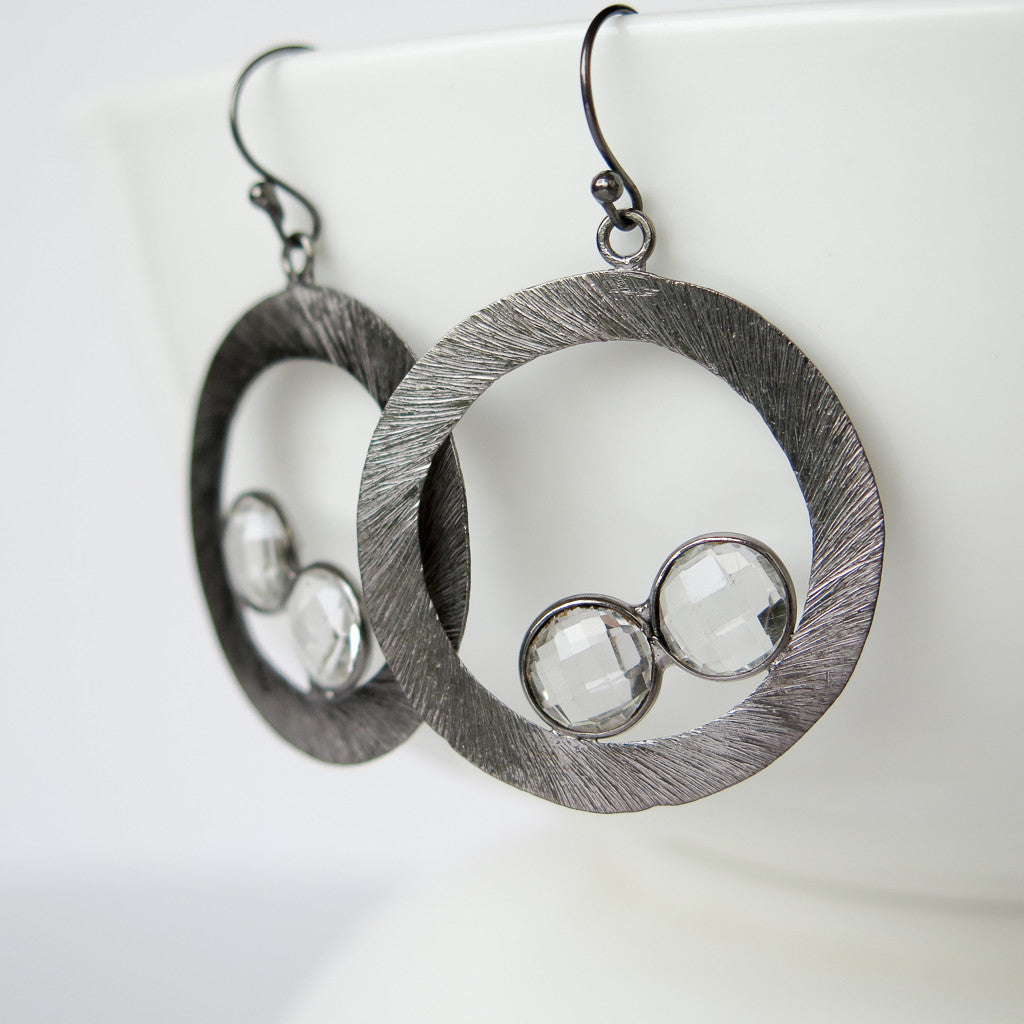 Binary Earrings, Earrings - Alleura Atelier